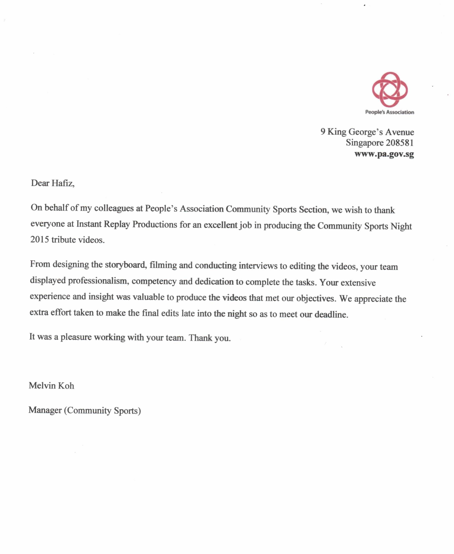 PA Community Sports Testimonial